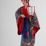 組踊「執心鐘入」 宿の女