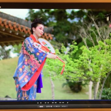 NHK「イッピン」 沖縄 紅型