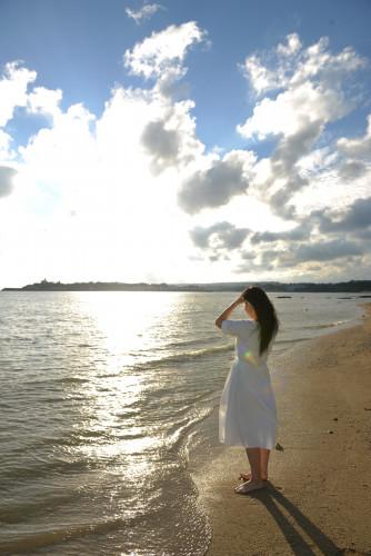 海辺のフォト