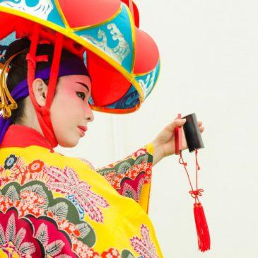 岡山 琉球舞踊ステージ