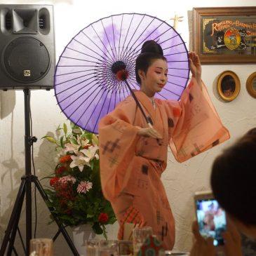 福島千枝(琉球舞踊)× 大濱麻未(歌三線)東京ライブ カンカラーカフェ