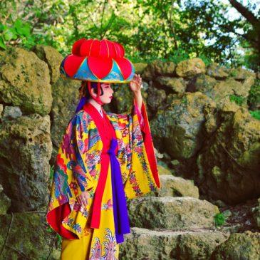 琉球舞踊ポートレート