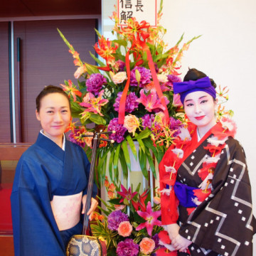 李登輝さん 沖縄ご訪問歓迎会