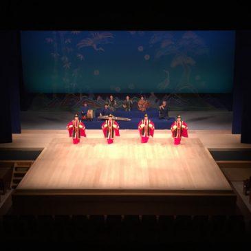 国立劇場おきなわ公演の映像収録ナビゲート