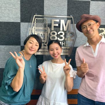 FMとよみ 新番組「ちえのmusic a go go!!」日曜 夜9時より放送中!