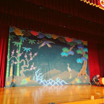 宮古島特別支援学校 琉球舞踊と組踊の公演