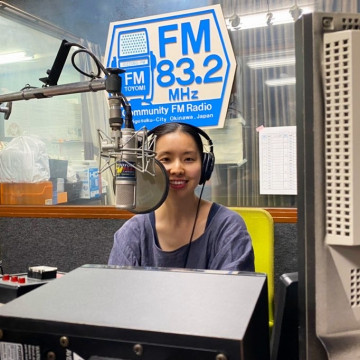 FMとよみ「ちえのMusic a GO GO!!」毎週日曜 夜9時放送中♪