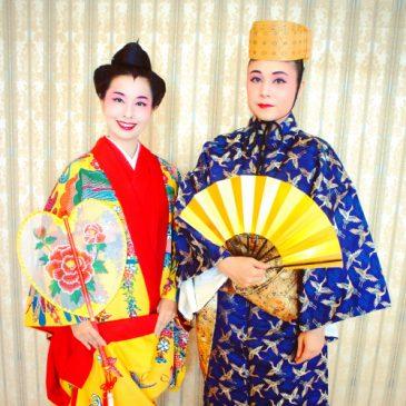 結婚式にて琉球舞踊「かぎやで風」