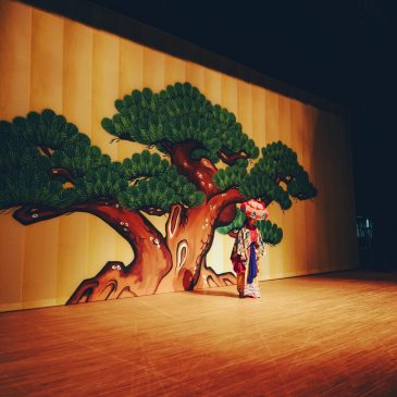 琉球舞踊「四つ竹」映像収録
