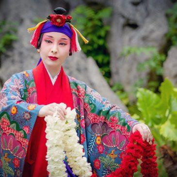 大石林山 琉球舞踊「本貫花」映像制作
